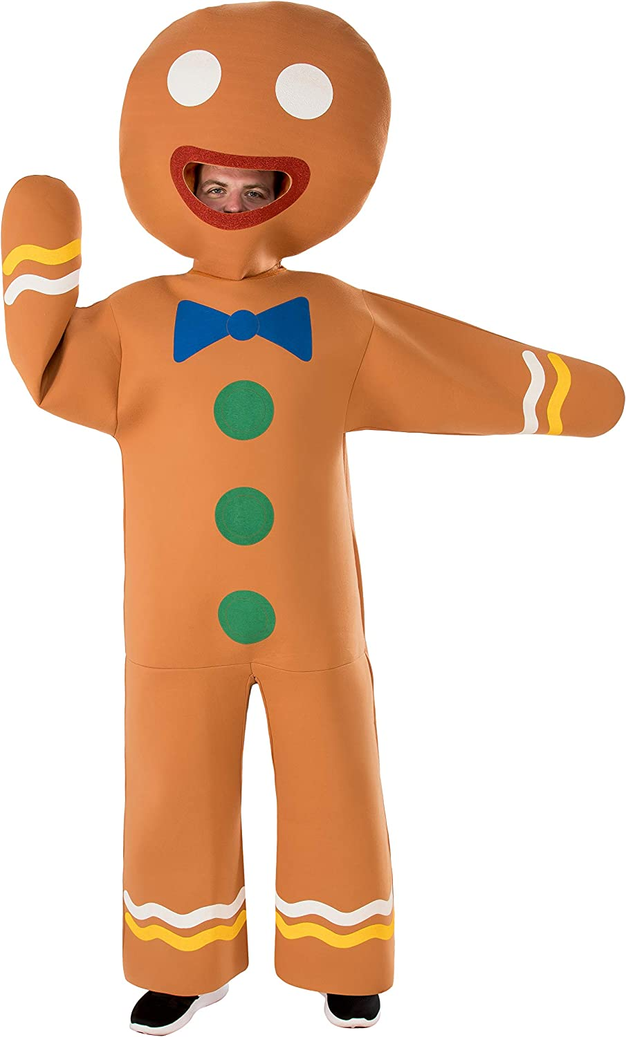 Rubie's Mens Gingerbread Man Costume