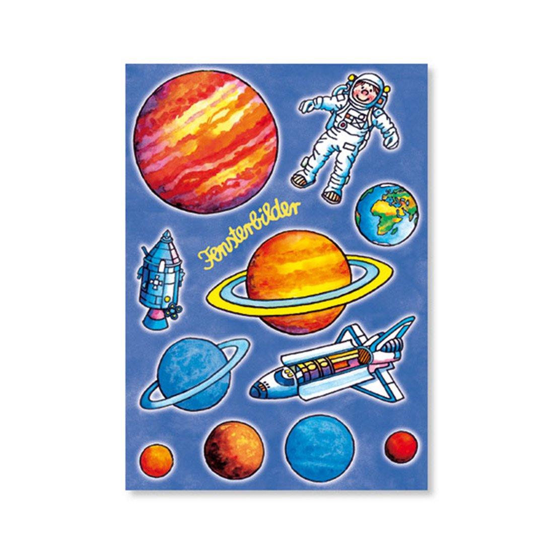 Lutz Mauder Lutz mauder88135 Solar System Fenster Bild Postkarte ...