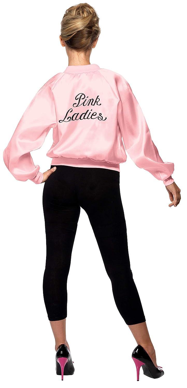Smiffys 28385, Chaqueta de Mujer para Grease, Rosa, M (12-14 UK): Smiffys Pink Lady Jacket (Medium): Amazon.es: Juguetes y juegos