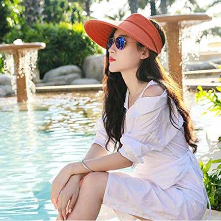 e77a15de OUTDOOR Sun shade sun hat female summer hat cover face no top empty sun hat  travel Korean wild cap: Amazon.co.uk: Kitchen & Home
