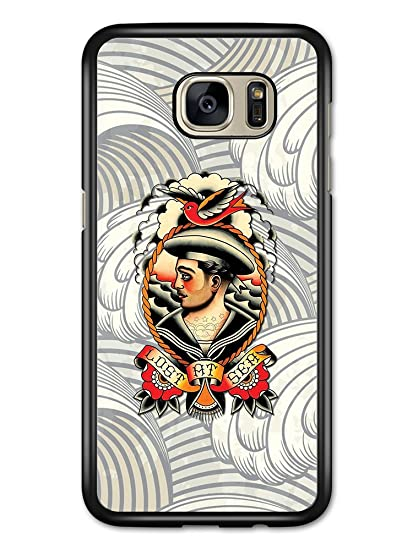 Amazon Lost At Sea Sailor Tattoo Flash Style Design With Waves Gorgeous Samsung Galaxy S7 Forgot Pattern