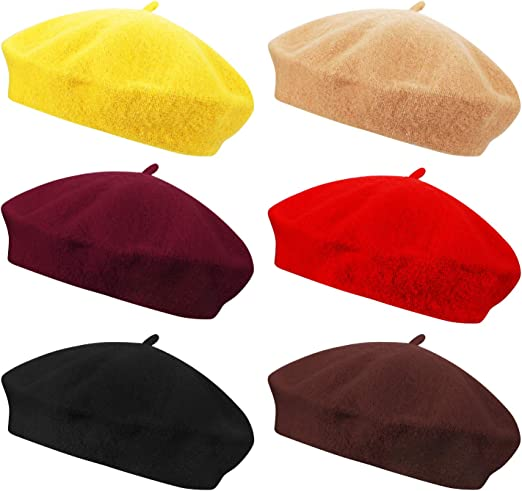 Wool Felt Beret For Ladies Ysting French Beret Womens Warm Winter Hats