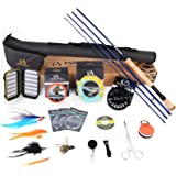 M MAXIMUMCATCH Maxcatch Predator Saltwater Fly Fishing Rod: 7'11''/9'/9'2''/10'