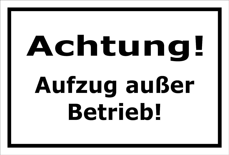 Melis Folienwerkstatt Schild Bohrl/öcher 3mm Aluverbund S00350-019-C 20 VAR 15x10cm Einfahrt freihalten