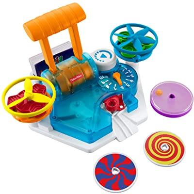 Fisher-Price Think & Learn Load & Launch Science Spinners: Toys & Games