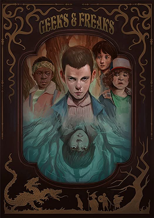 Instabuy Stranger Things Posters Vintage 13 - A3 (42x30 cm ...