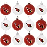 17e3f066e6658f Forever Collectibles NFL Football Plastic Ball Holiday Tree Ornament Set  (12 Pack) - Pick
