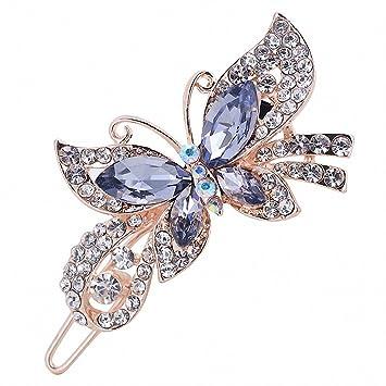 Amazon.com: Para mujer pasador Mutlicolor elegante ...