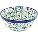 Polish Pottery 18 oz Handmade 6'' Berry Cereal Bowl Pattern 209-2163
