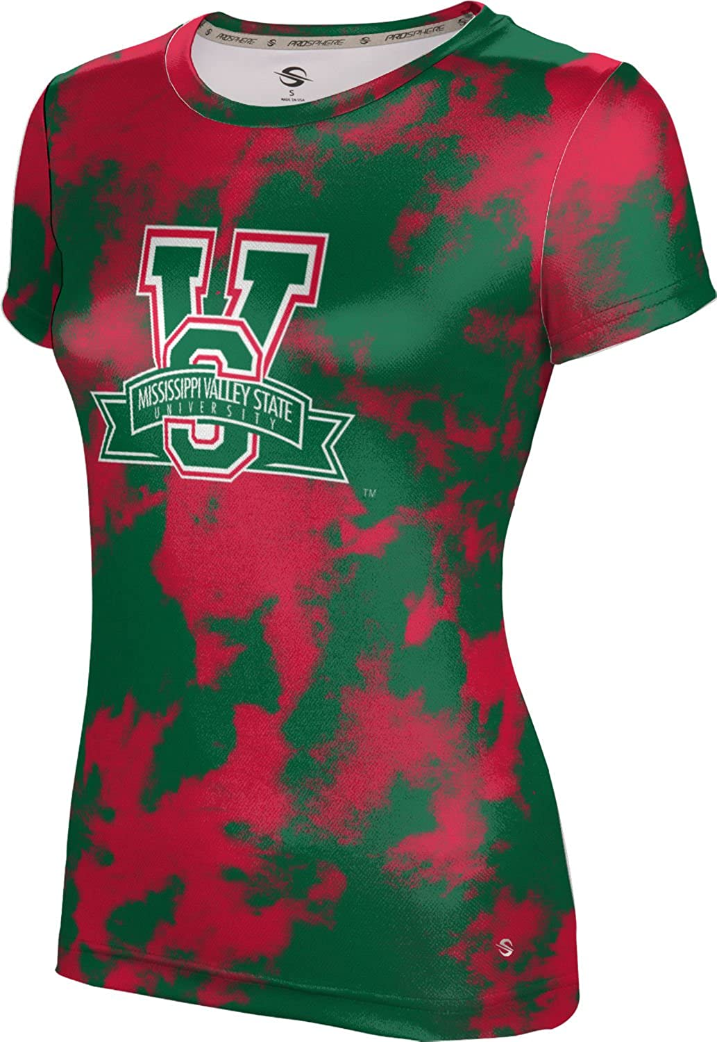 ProSphere Mississippi Valley State University Girls Performance T-Shirt Grunge