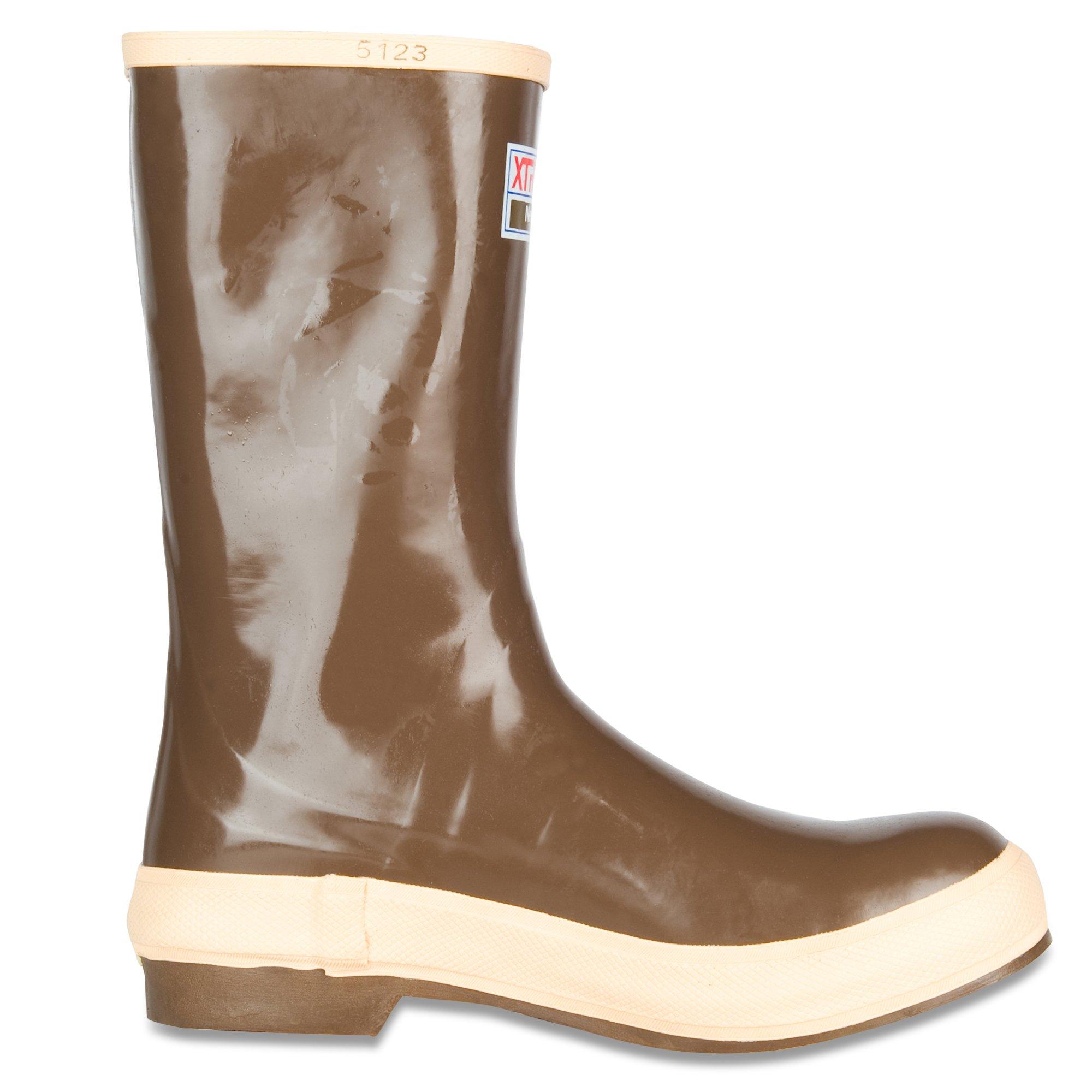 XTRATUF Legacy Series 12'' Camo-Lined Neoprene Men's Fishing Boots, Copper & Tan (22834G) by Xtratuf (Image #6)