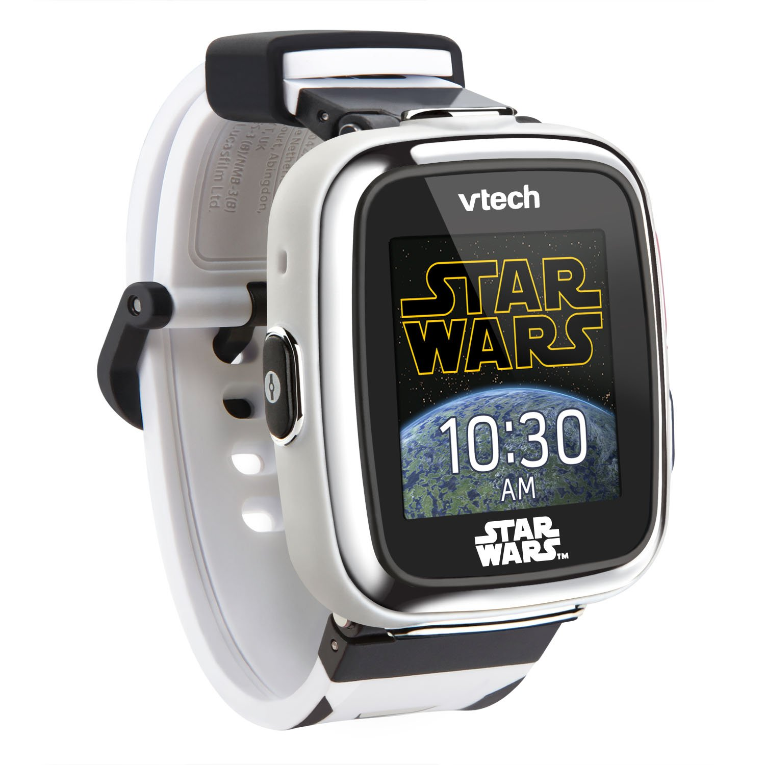 VTech Star Wars First Order Stormtrooper Smartwatch with Camera Amazon Exclusive, White by VTech (Image #4)