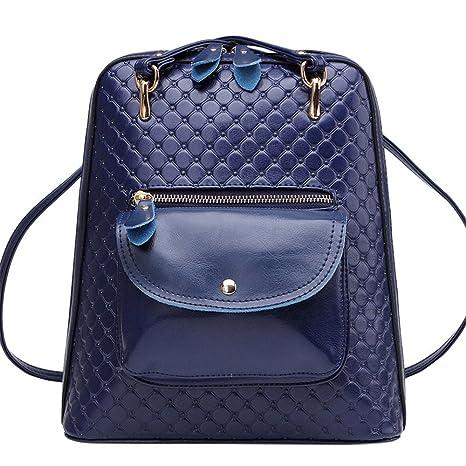 La Sra. hombros paquete elegante verano retro mochilas, multi-uso único bolso de
