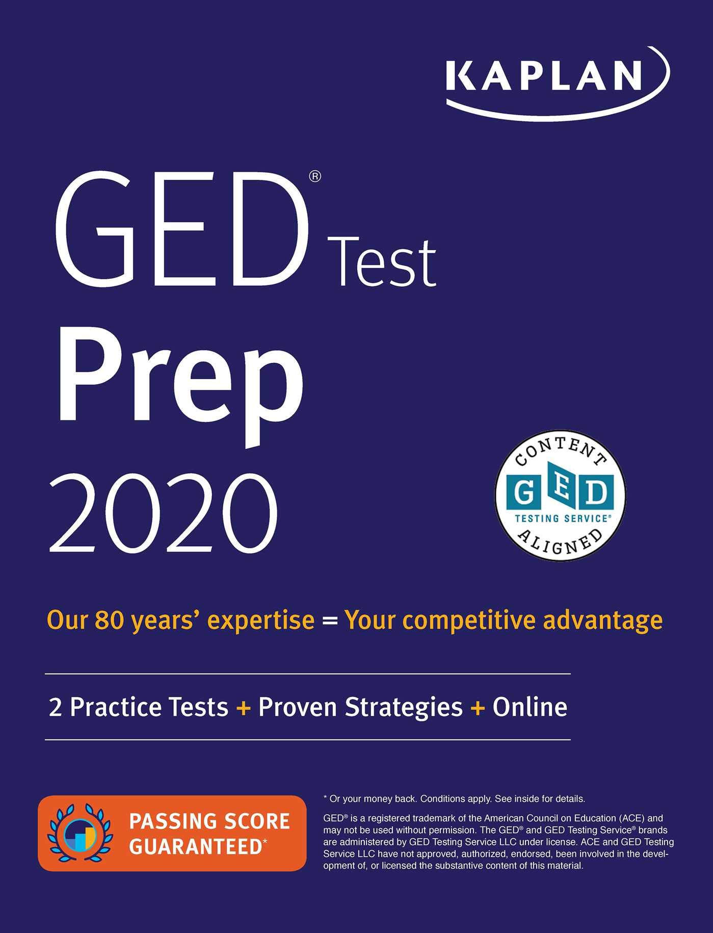 Get Your Ged Online >> Ged Test Prep 2020 2 Practice Tests Proven Strategies