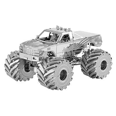 Fascinations Metal Earth Monster Truck 3D Metal Model Kit: Toys & Games