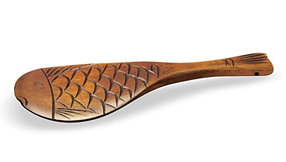 Amazon.com: Handcrafted de Madera Cucharón Rice Scoop Paddle ...