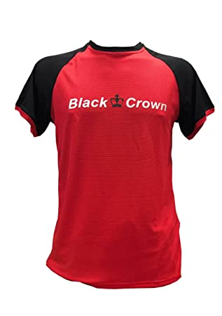 Camiseta Padel Black Crown X5 Rojo/Negro -XL: Amazon.es: Deportes y aire libre