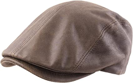 casquette femme cuir