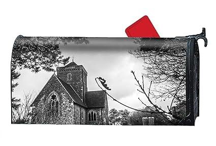 Amazon.com: XW-FGF England Church Custom Magnetic Mailbox ...