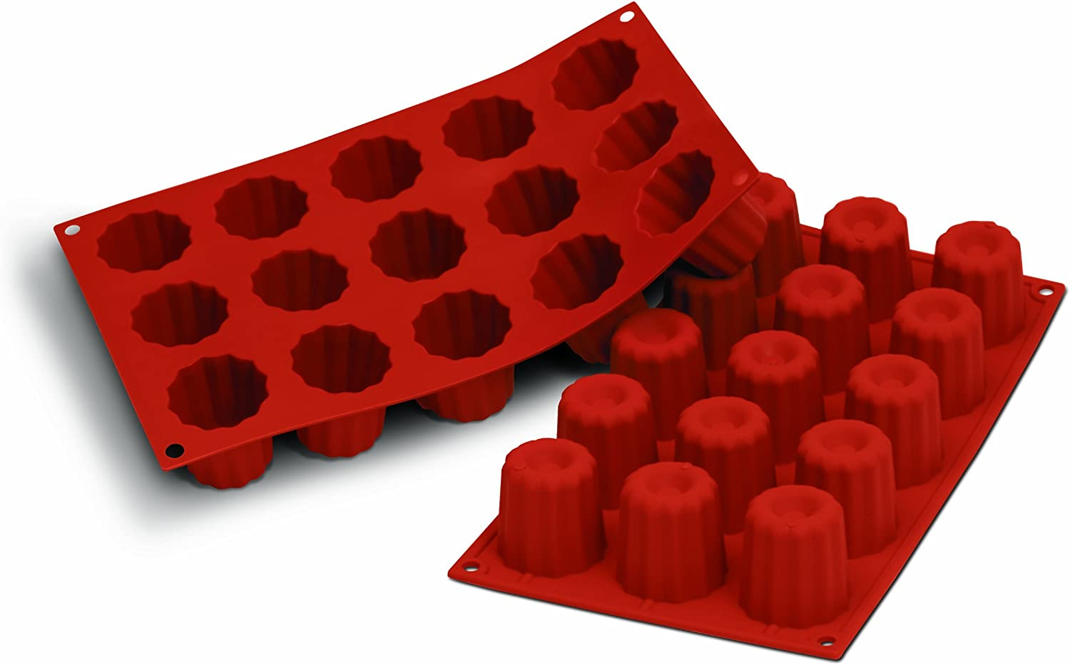 Bordelaise Silikomart SF033//C Silicone Classic Collection Mold Shapes Small