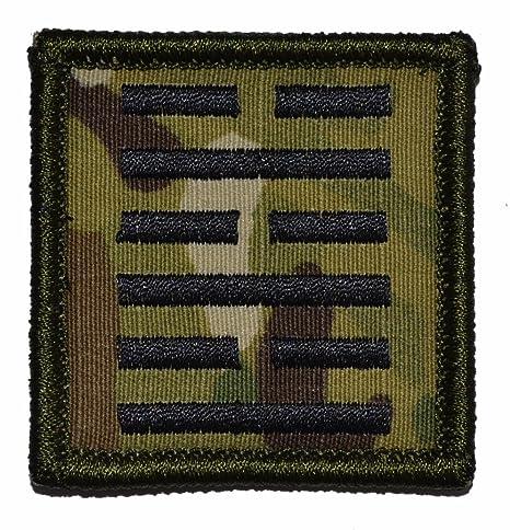 Snake Eyes símbolo G.I. Joe Ninja 2 x 2 Militar parche ...