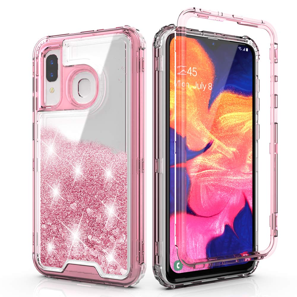 Funda Para Samsung Galaxy A20 / A30 Glitter Qqcase [7w6sprf5]