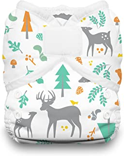 product image for Thirsties Duo Wrap Cloth Diaper Cover, Hook and Loop Closure, Woodland Size One (6-18 lbs)