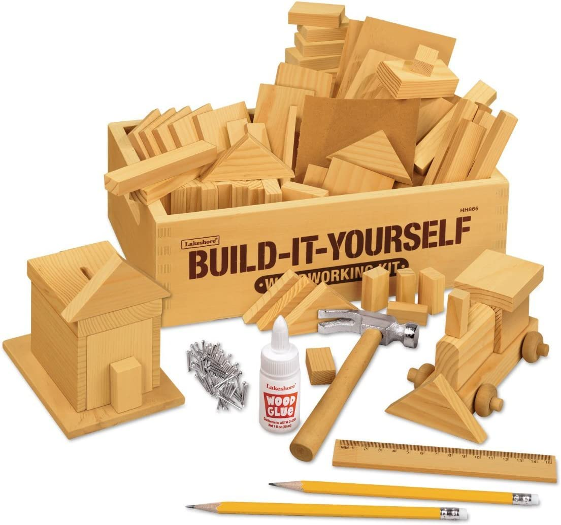 Amazon Com Lakeshore Build It Yourself Woodworking Kit Toys Games