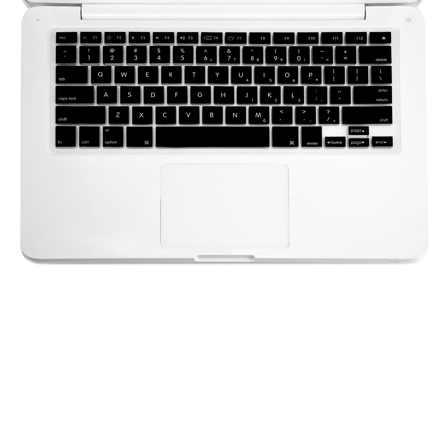 Amazon.com: TopCase BLACK Keyboard Silicone Skin Cover for Macbook 13 13.3 (1st Generation/A1181) with TopCase Mouse Pad: Computers & Accessories