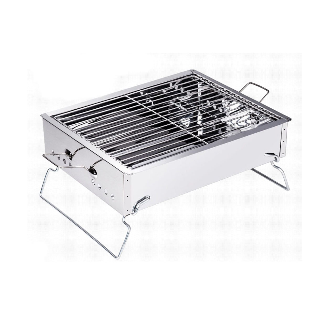 HAOYUXIAN Outdoor Portable Holzkohle Grill Home Grill Feld Barbecue Box,Grill