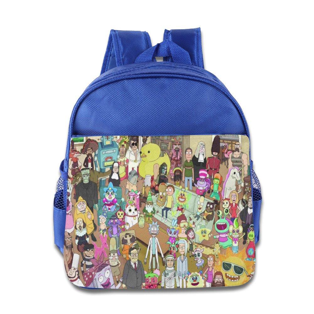 Examen Rick y Morty temporada 2 niños escuela mochila Bolsa ...