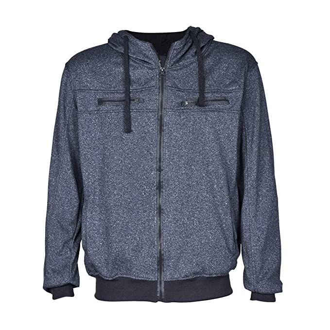 Amazon.com: Chaqueta con capucha y capucha para hombre ...