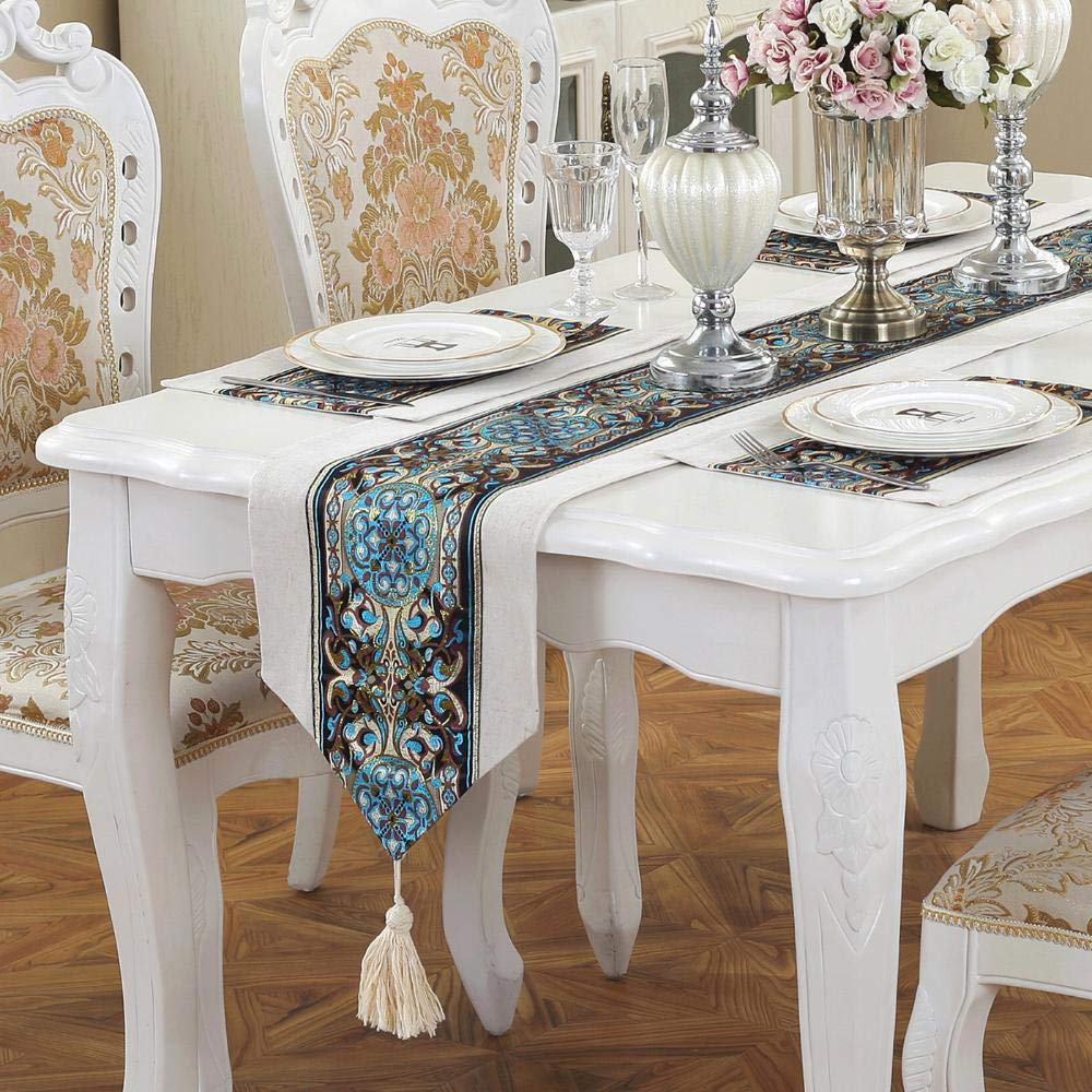 kaige table runners Tea Table Flag Cloth table decoration long fabric hotel bed flag bed tail Towel