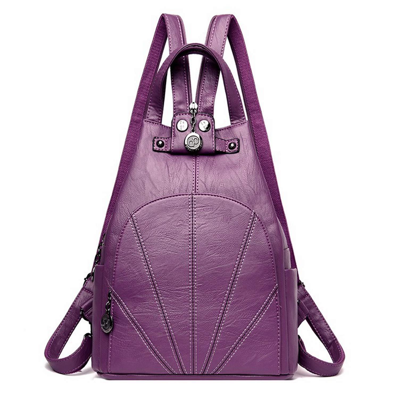 Amazon.com: Women Anti-Theft Backpacks for Girls Mochilas Ladies Back Pack Vintage Bagpack Large Capacity Rucksacks Female Shoulder Bag: Computers & ...