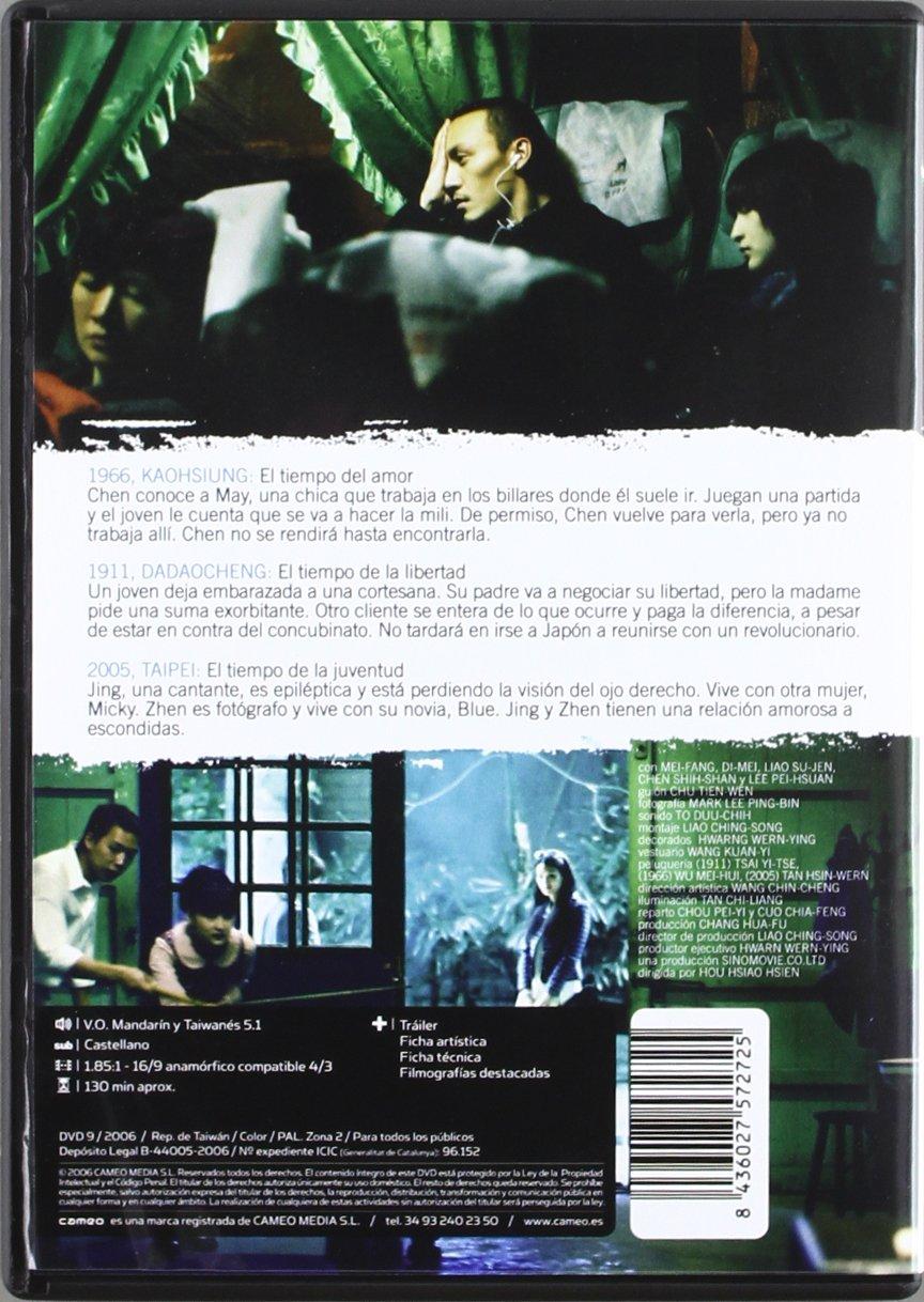 Tiempos De Amor, Juventud Y Libertad [DVD]: Amazon.es: Shu Qi, Chang Chen, Di-Mei, Chen Shih-Shan, Lee Pei-Hsuan, Liao Su-Jen, Mei-Fang, Varios, ...