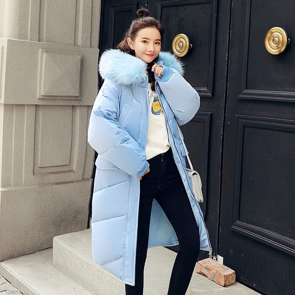 Amazon.com: DORIC Wholesale Women Outerwear Fur Hooded Coat Long Cotton-Padded Jackets Pocket Coats: Clothing