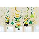 Décorations à suspendre Saint Patrick - Taille Unique