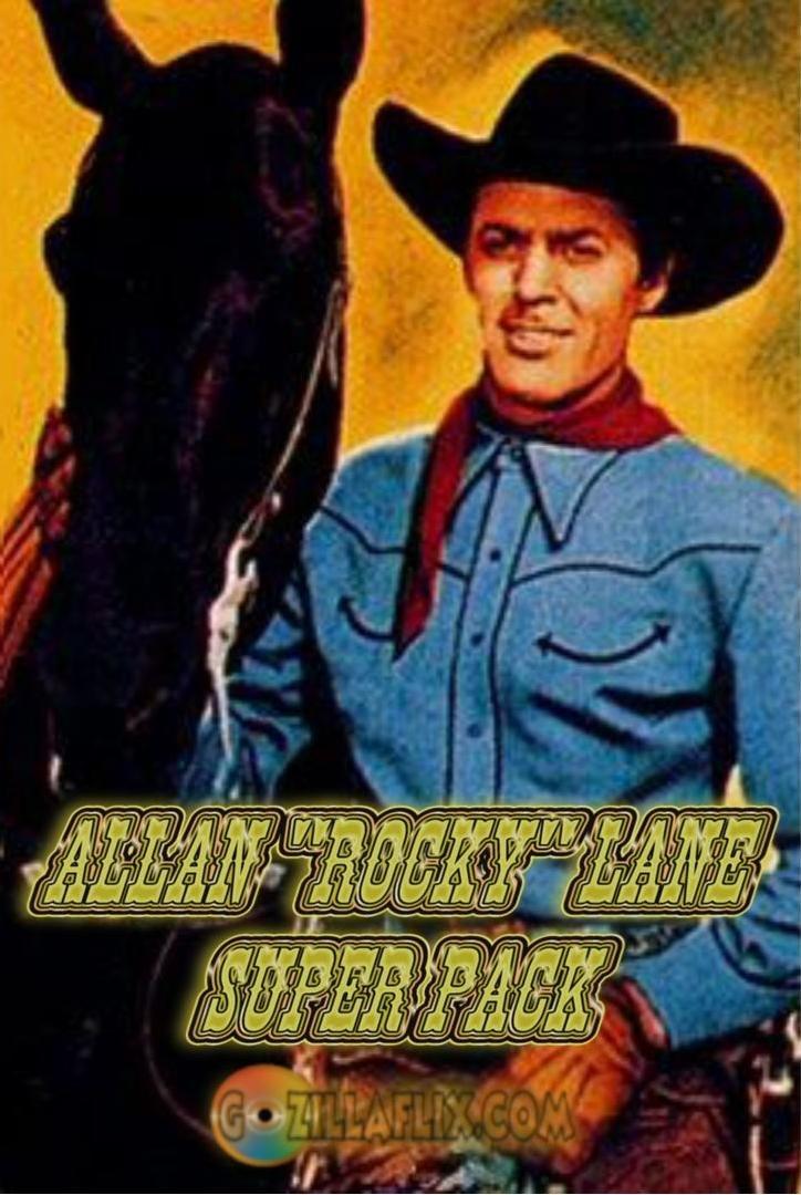Amazoncom Allan Rocky Lane Super Pack Allan Rocky