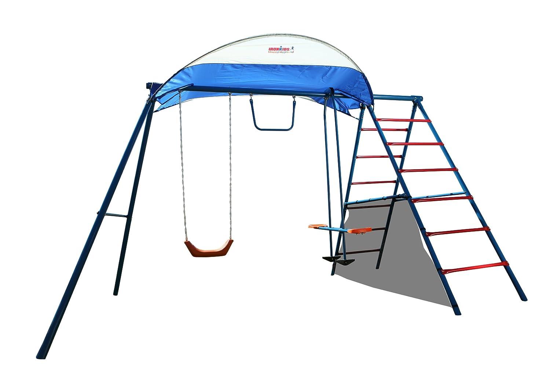 Ironkids Challenge Metal Swing Set