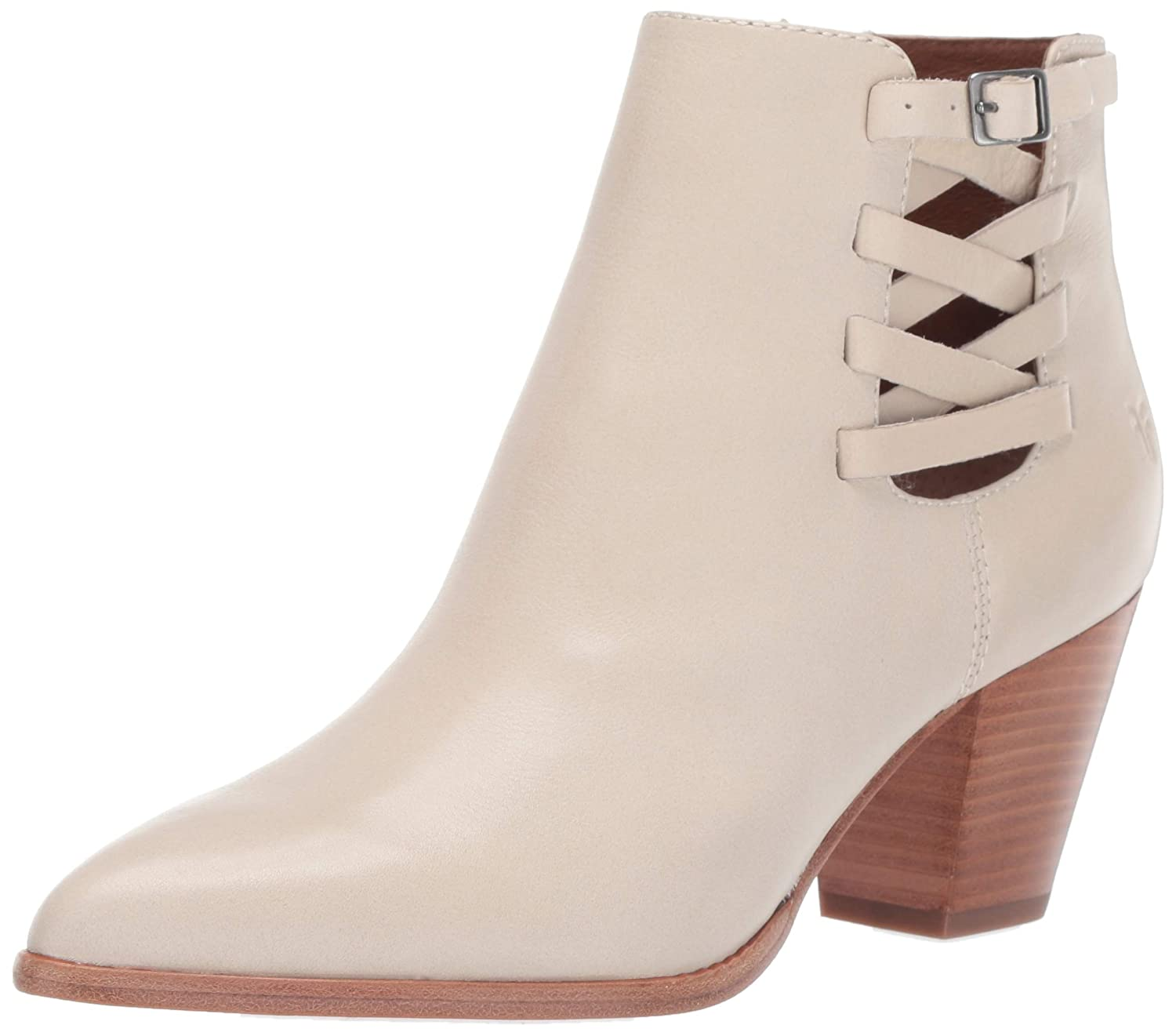 Off White Frye Womens Reed Strappy Bootie Ankle Boot