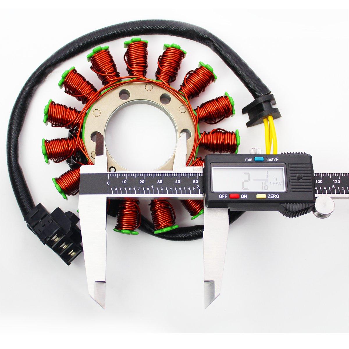 Emusa Oem Replacement Stator Magneto Coil Generator For Cbr Motorcycle Engine Shaft Diagram 07 12 Honda Cbr600rr Automotive