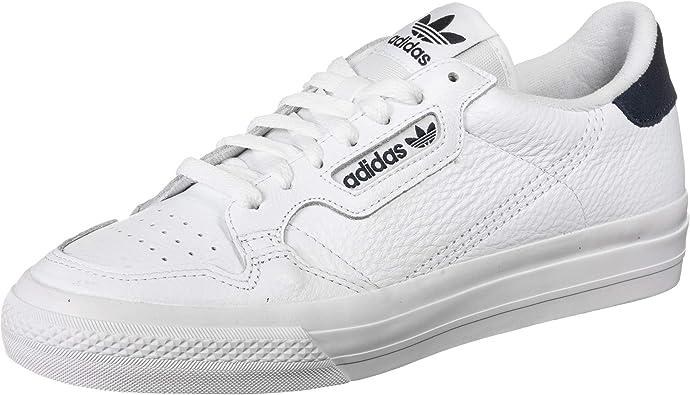 Adidas Continental Vulc White White Navy