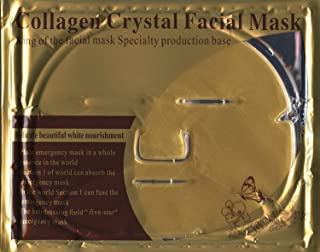 product image for Luxurious 24k Nano Gold Collagen Crystal Facial Mask 5 Packs