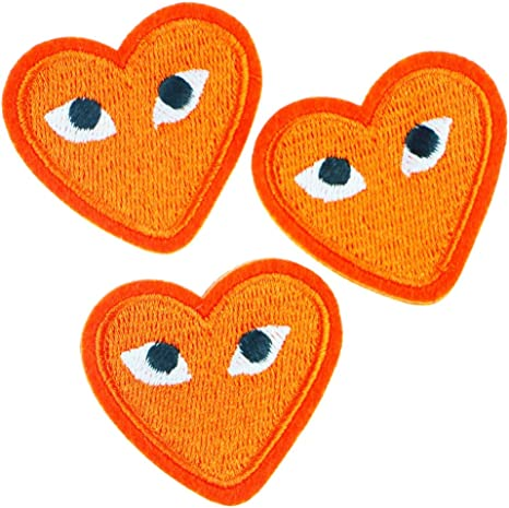 Iron on Heart patch Angel patches 3pc//set Fashion Small patch