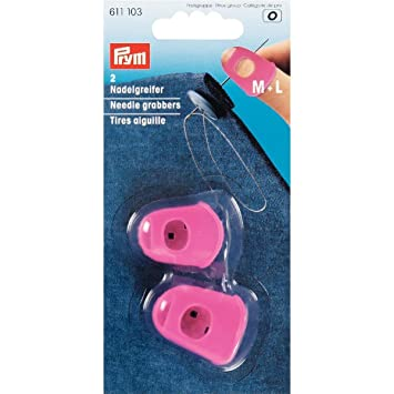 Farbe pink  611103 Prym Nadelgreifer für starke Materialien Leder Jeans usw
