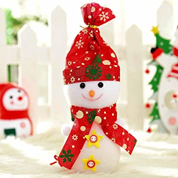 Amazon Com Minertech Christmas Doll Decorations Snowman