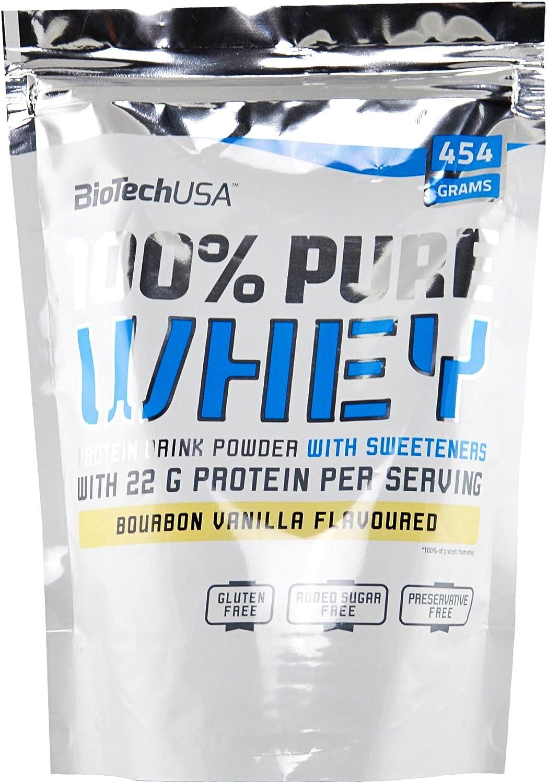 Biotech 100% Pure Whey Proteínas Avellanas - 454 gr ...