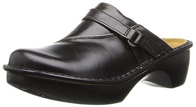 Naot Women's Florence Mule, Midnight Black Leather, 35 EU/4 M-W US