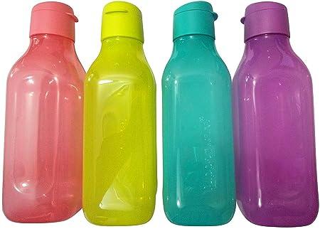 Tupperware Square Flip Top Bottle 1000 ML  Set of 4