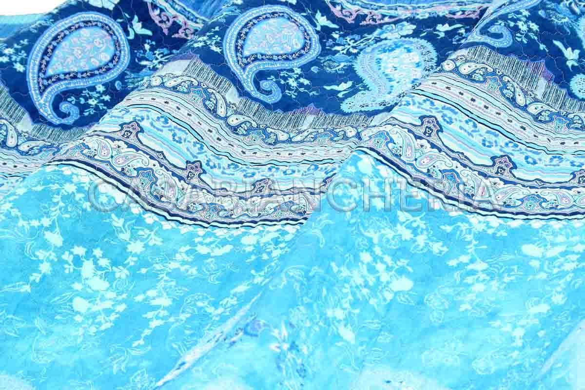 Bassetti ANACAPRI V3 Couvre-lit Bleu 265 x 255 cm